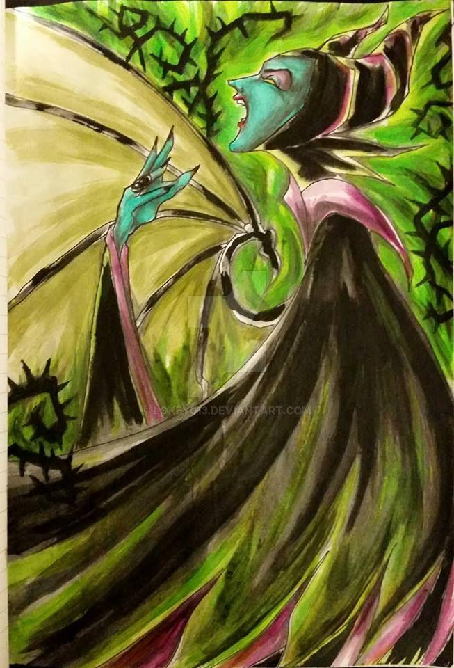 Maleficent Update by lokey013
