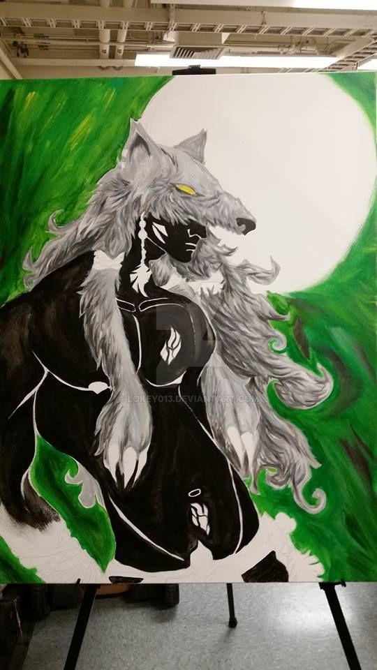 Wolf Cowl by lokey013