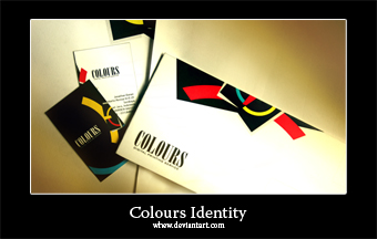 Colours Corporate Identity by whew