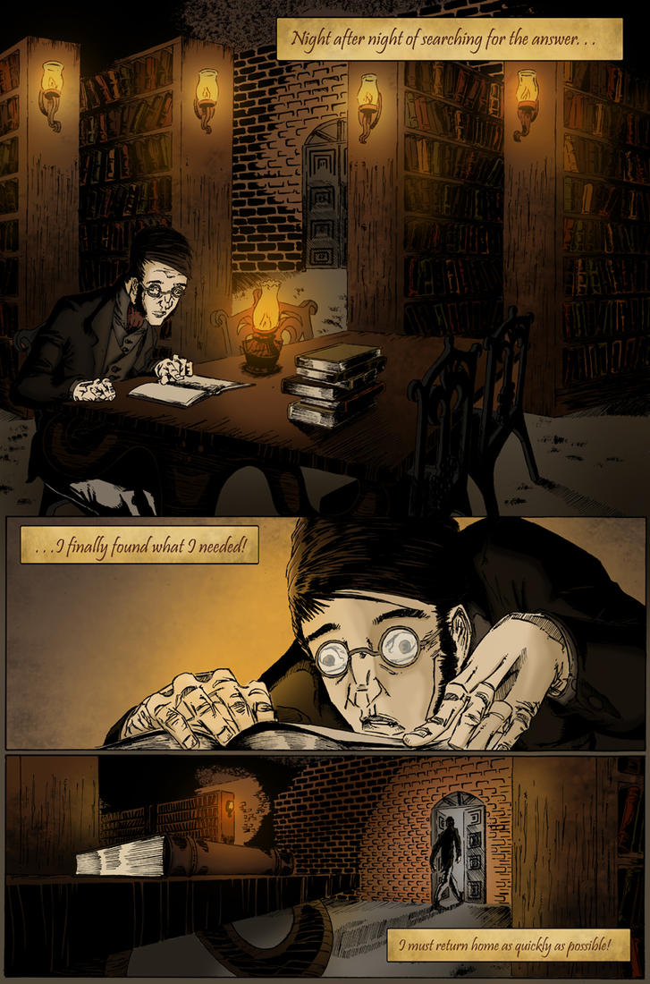 O.W.L. Chapter One Page Five by meritcomics
