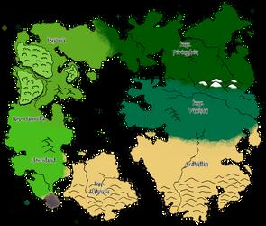 Battuta continent/continente