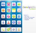 CandyMilk: iPhone Theme