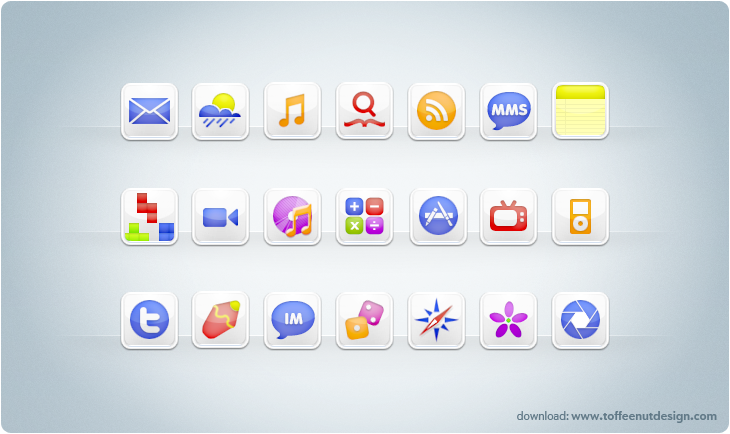 CandyMilk V2: iPhone Theme by ToffeeNut