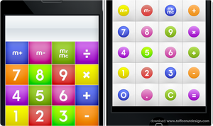 iPhone: CandyMilk Calculator