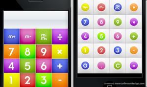 iPhone: CandyMilk Calculator by ToffeeNut