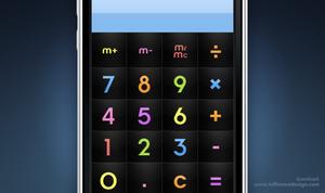 iPhone: ChocoMilk Calculator