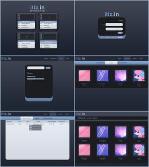Itiz.in Web Interface Design