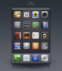 Deep iPhone Theme