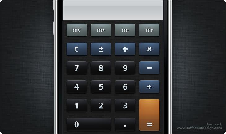 Matte Calculator Iphone Theme By Toffeenut On Deviantart