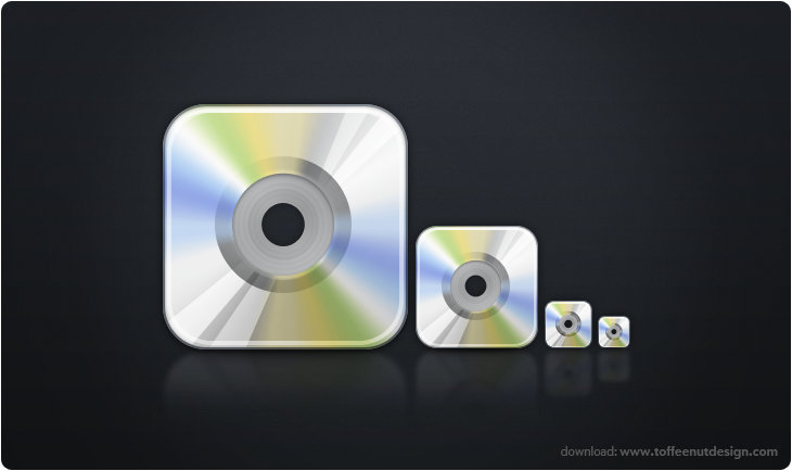 iTunes CD Icon by ToffeeNut