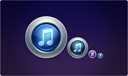 iTunes 10 Replacement Icon
