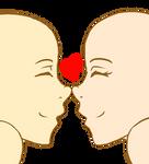 Nose to nose - Pixel version
