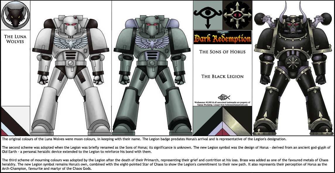 DR: Black Legion by Koilungfish on DeviantArt