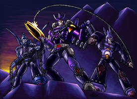 Unicronians in Leather by Koilungfish
