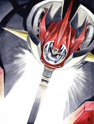 Mazinger Z! photon beam! by ELLeGGi