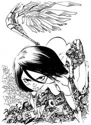 Alita Commission by ELLeGGi
