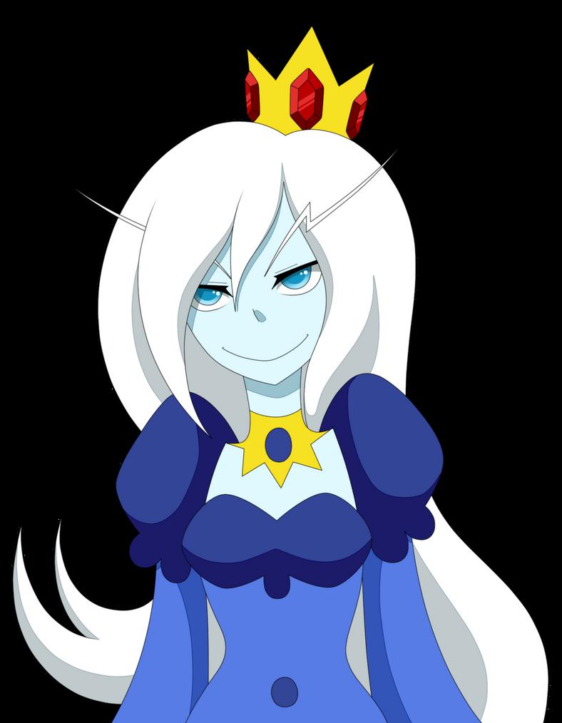 ice queen by eeriezombie on deviantart