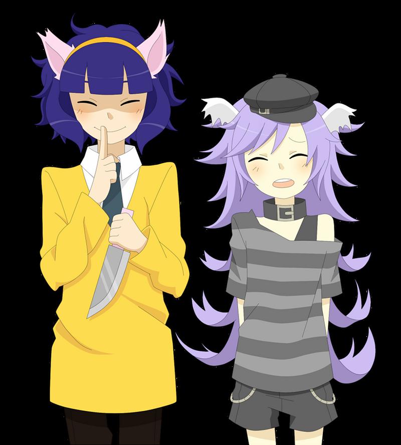 Prim and Yuki by EerieZombie