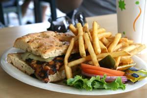 Chicken Sangwich by drifter808