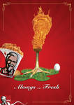 KFC Always Fresh by ramma7