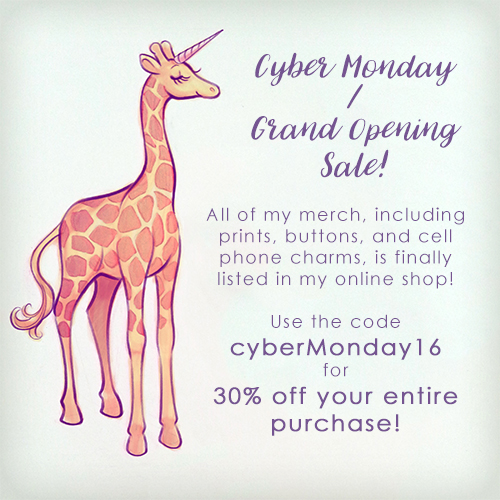 cyberMonday16 by TealSeaArt