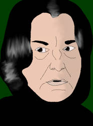 Severus Snape by Nalay