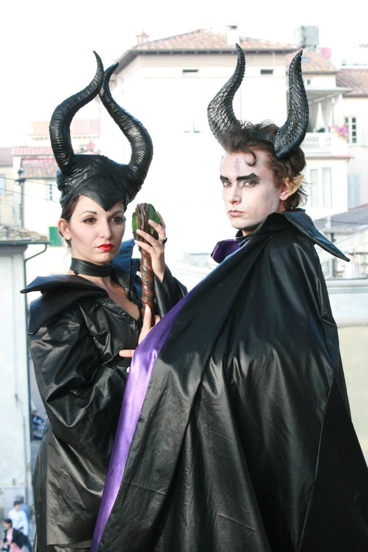 Malefica and Malefico by Cosmy-Milord