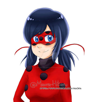 Ladybug I hope you guys like it! by Maora-Hikaru