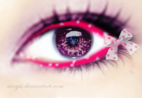 Beauty Pink Eye by Sireysi