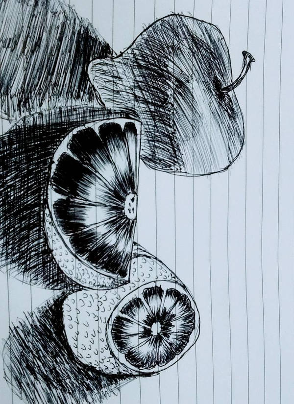 Fruits Pen by komahan