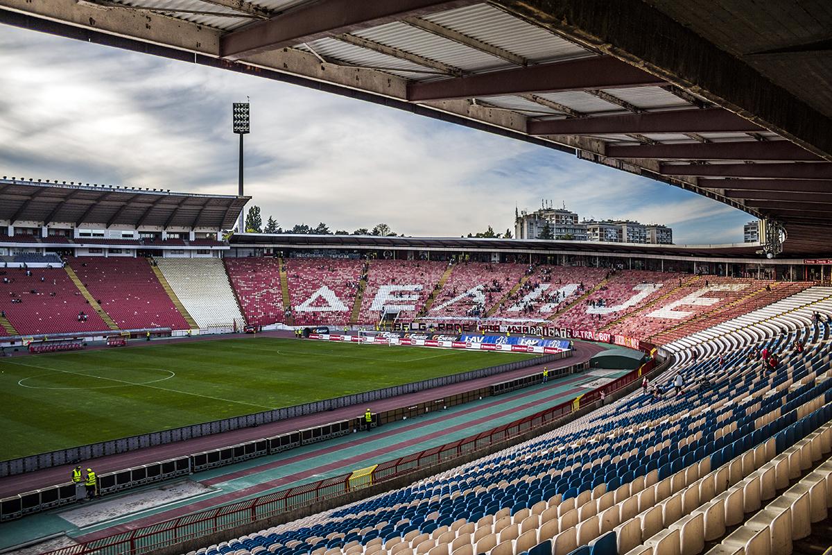 Red Star FC Stadium Belgrade by MilanNikolaPetrovic