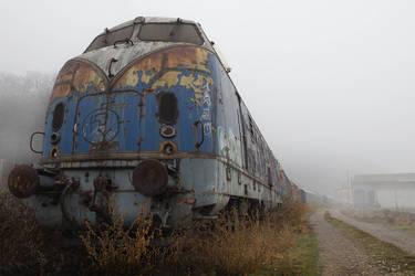 Ghost train by MilanNikolaPetrovic