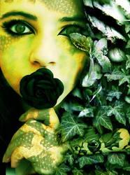 Girl of snakes