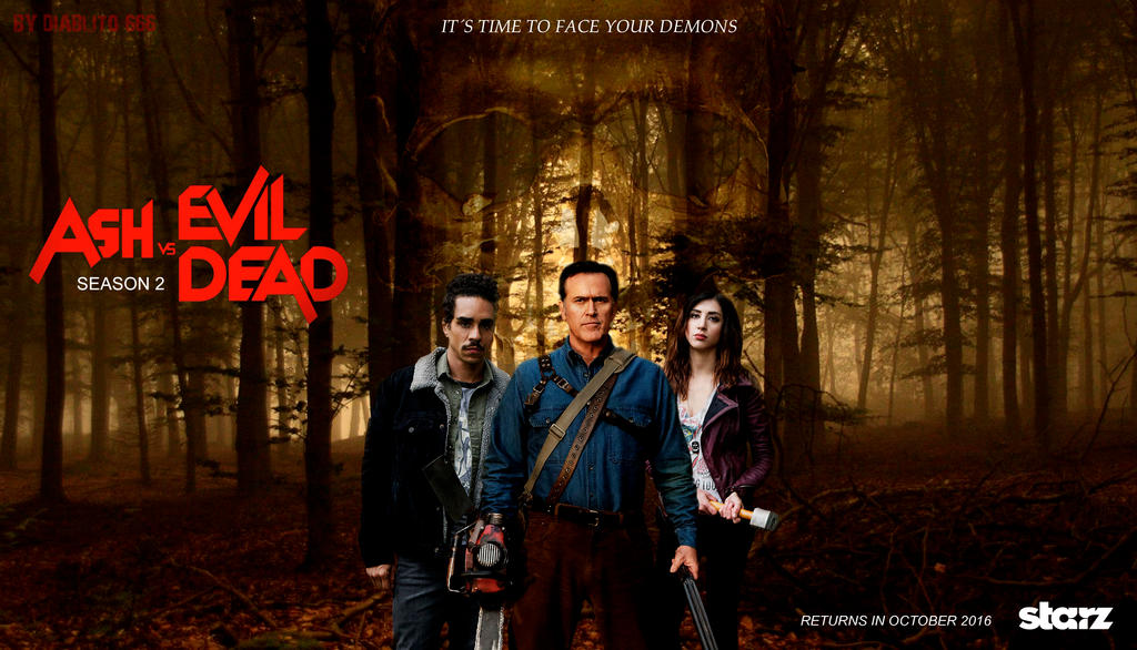 ash vs evil dead returns with some serious bite the geeked gods
