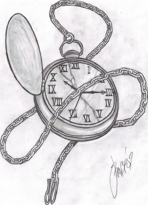 Pocket Watch by grimdiskord on DeviantArt