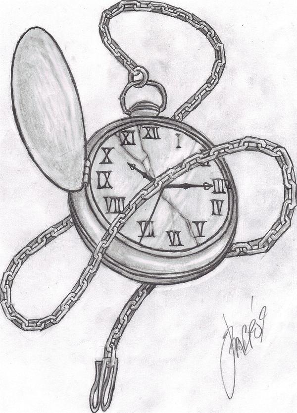 Pocket Watch by grimdiskord on DeviantArt