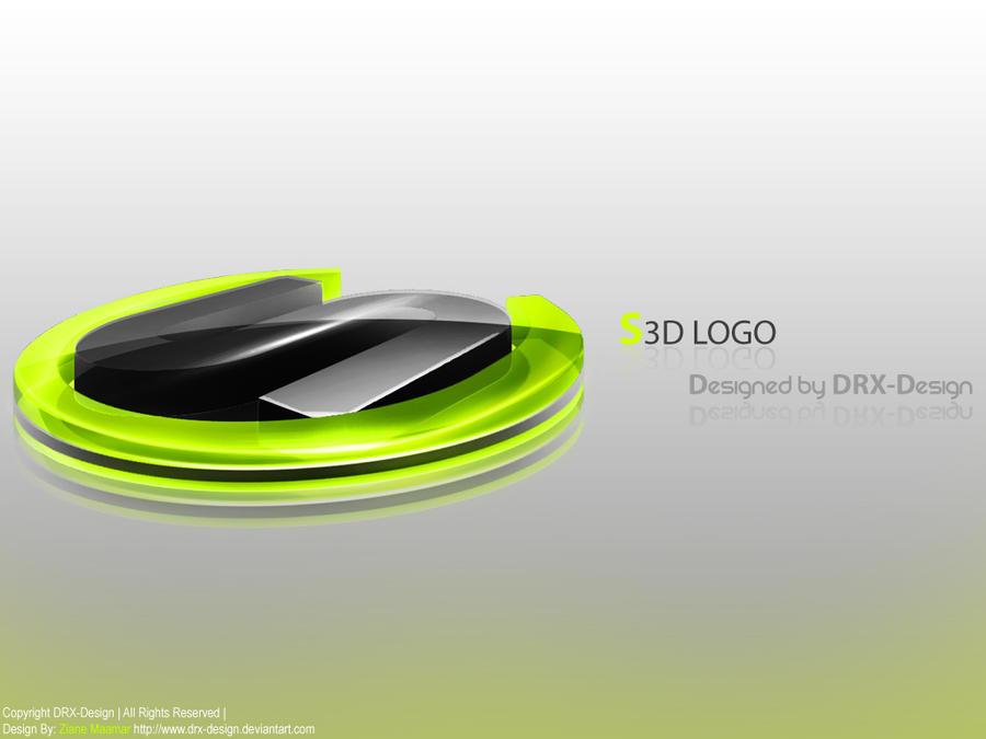 S Logo 3d S3D LOGO by DRX-Design