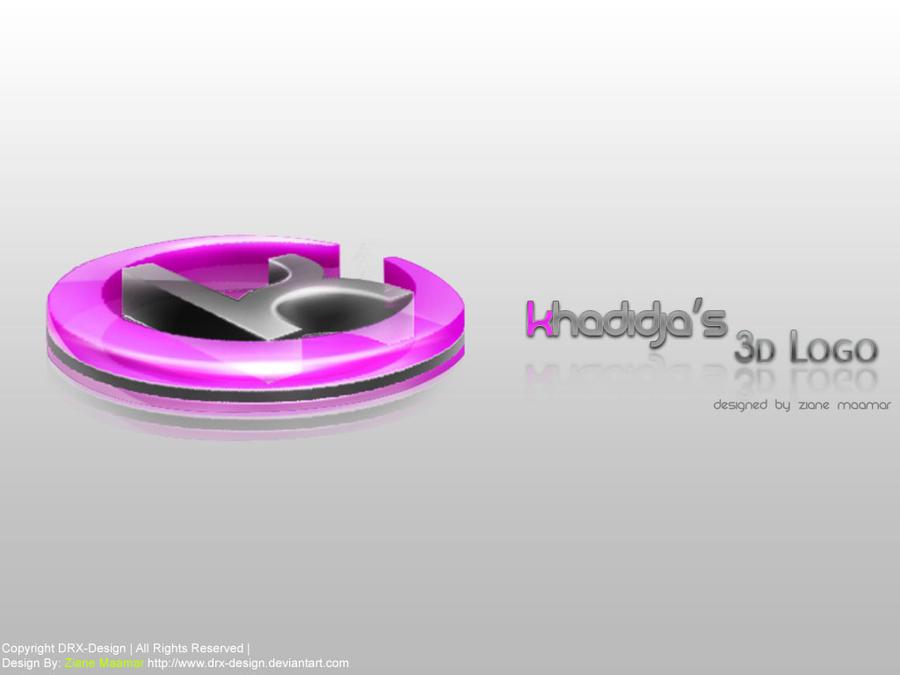 S Logo 3d Kadidja s 3D Logo by