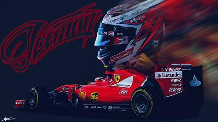 Kimi Raikkonen 2015 Wallpaper