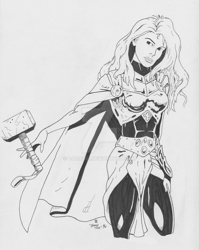female thor - 798×1001