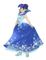 MLPFiM - Twilight's gala dress by DDhew
