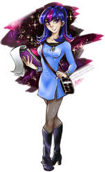 Science Officer Twilight by DDhew