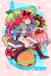 Valentine Kyouko by DDhew
