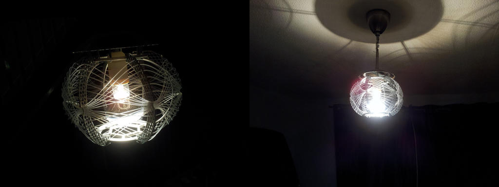 3D printed Web Shade by ulyses