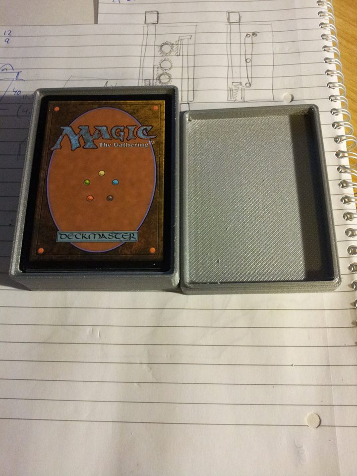 3D printed Magic the Gathering deck box by ulyses