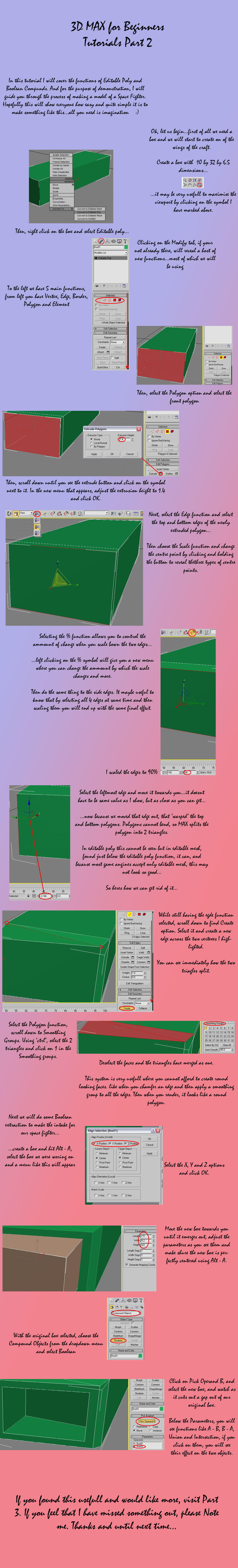 3d max tutorials part 2 by ulyses on deviantart for 3d max lessons for beginners