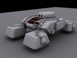 C and C Stealth Tank by ulyses