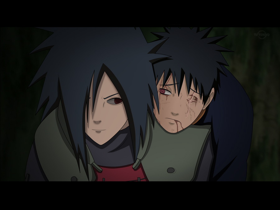 Galerie d'images Naruto - Page 7 Madara_and_obito_by_axcell1ben-d4o4yqr