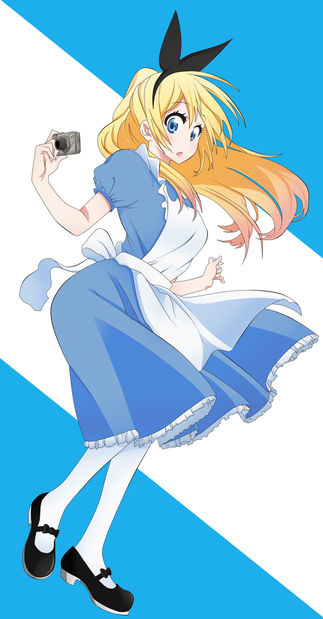 Chitoge in wonderland by Axcell1ben