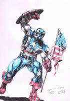 Captain America by Jigmetenzin